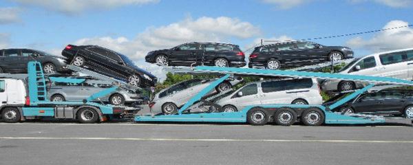 transport d'une voiture en panne